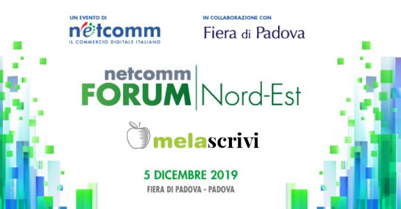 Netcomm Forum di Padova, Melascrivi è presente