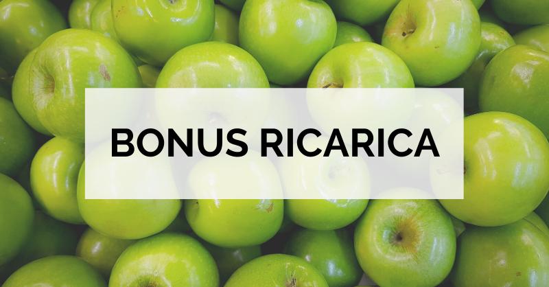 Bonus ricarica 10€ per i Clienti Melascrivi