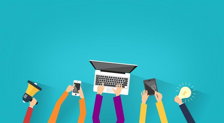 Online Copywriting tramite Computer