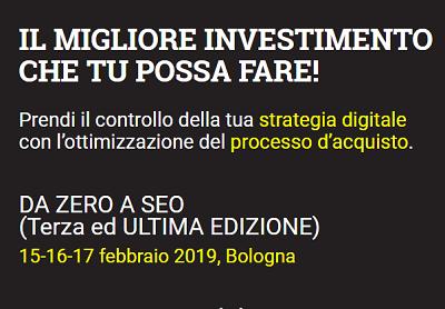 DeZeroaSeo 3 Bologna 2019