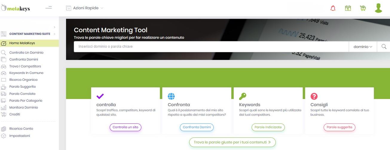 Seo Tool Melakeys Home Page