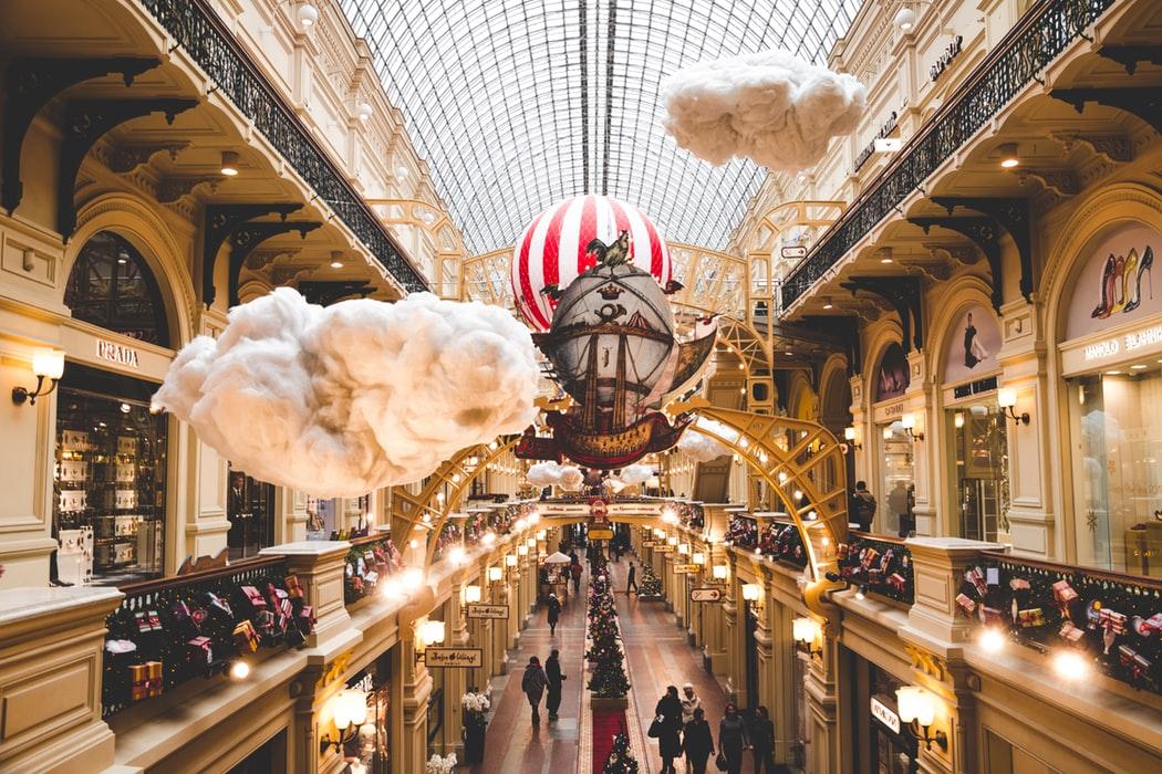I grandi magazzini GUM di Mosca